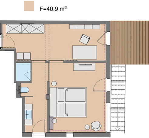 Villa Les Terrasses - Marine Plan